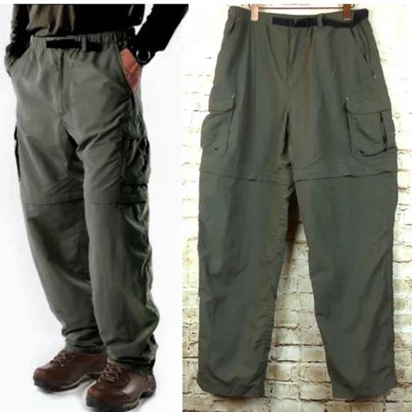 736365bf0f42e0 Men s REI Sahara Convertible Hiking Pants   Shorts.  M 5a6bd30d8af1c531502a1c36